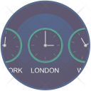 World Time Clock Icon