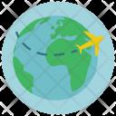 Travel World Tour Icon