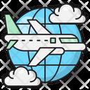 Tour Flight Travel Icon