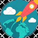 Business Tourism Globe Icon