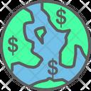 Transaction World Finance Flat Icon