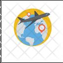 World Travel World Trip Travel Destination Icon