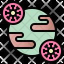 World Virus Icon