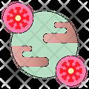 World Virus Pandemic Coronavirus Icon