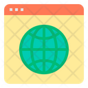 World Wide Web Search Icon