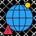 Corona Danger Global Icon