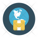 Online Delivery Parcel Icon
