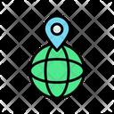 World Wide Location Icon
