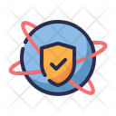 World wide protection Icon