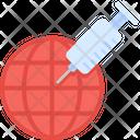 Vaccine Health Protection Icon