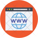 Internet Cyberspace Site Icon