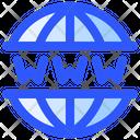 Internet Technology World Wide Web Www Icon