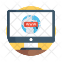 Www Intranet World Wide Web Icon