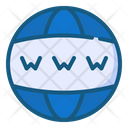 World Wide Marketing Seo Icon