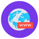 Web Domain Www Intranet Icon