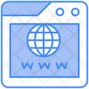 World Wide Web Web Web Page Icon