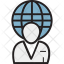 Worldwide User Global Services Icon