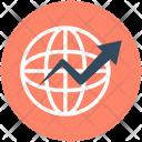 Worldwide Globe International Icon