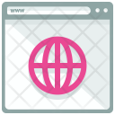 Global Internet Webpage Icon