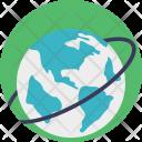Worldwide Global Travel Icon