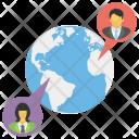 Global Communication Worldwide Icon