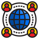 Network World Communication Icon
