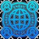 Worldwide Communication Network World Icon