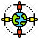Worldwide connection Icon