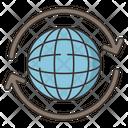 Worldwide Coverage Icon