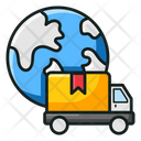 Global Delivery Worldwide Delivery International Delivery Icon