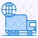 Worldwide Delivery Global Delivery International Delivery Logistics Icon