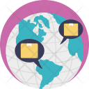 Worldwide Delivery Service Icon