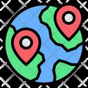 Worldwide Location Icon
