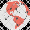 Worldwide Network Global Icon