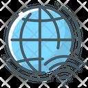 Globe Web Development Internet Icon