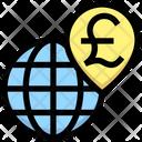 Worldwide Pound Pound Worlwide Worldwide Icon