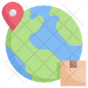 Worldwide Product Delivery Icon