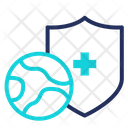 Worldwide protection Icon