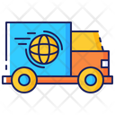 Worldwide Shipping Distribution Icon
