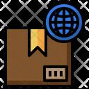 Worldwide Shipping Worldwide Delivery International Logistics Icon