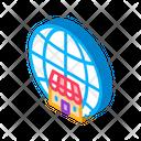 Worldwide Franchise Trade Icon