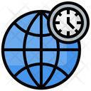 Worldwide Time Icon