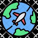 Worldwide Travel Icon