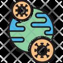 Virus Worldwide Icon