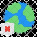 Worldwide Virus Icon