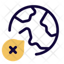 Worldwide Virus Corona Pandemic Pandemic Icon