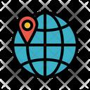 Worldwife International Travel Location Pointer Icon