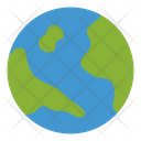Worlwide Global Ecology Green Icon