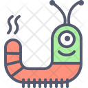 Worm Alien Character Icon