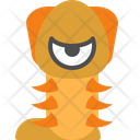 Worm Character Creature Icon